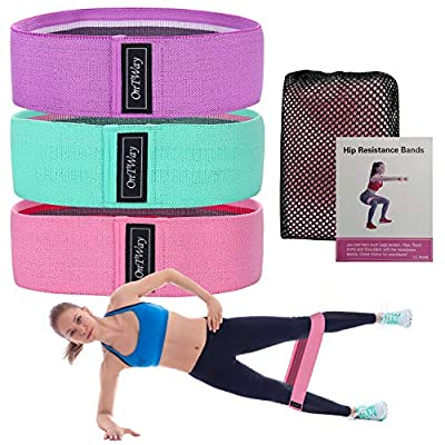 iykenmail Resistance Bands for Legs and Hips, A...