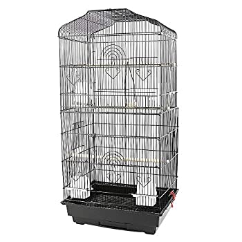 YJIIJY Volière Cage à Oiseaux Grande Volière Cage Oiseaux 46×35.3×92 cm