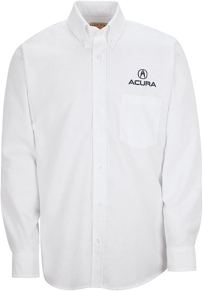 Red Kap SR70 Men's Long Sleeve Executive Oxford Dress Shirt White 17.5 Neck x 36 Sleeve