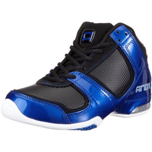 AND1 Advance Mid, Zapatillas de Baloncesto Unisex, Negro, 45.5