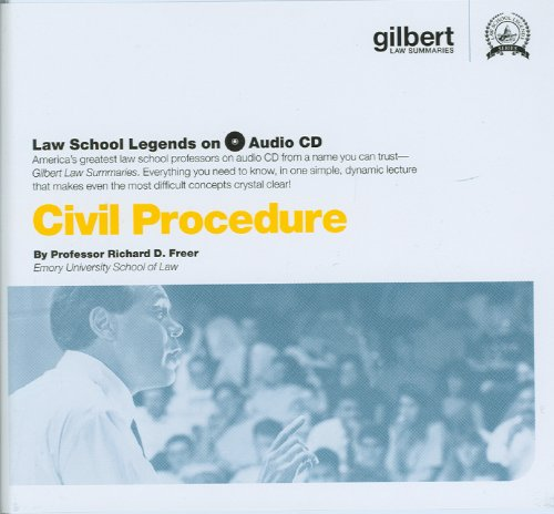 Civil Procedure (Law School Legends Audio Series)