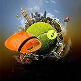HHORD Tenis Trainer Rebounder Bola, Bola De Capacitación Equipo De Herramientas De Tenis con Una Cuerda Y Prácticas para Principiantes Ejercicio De Auto Estudio Zócalo Sparring Dispositivo Duradero