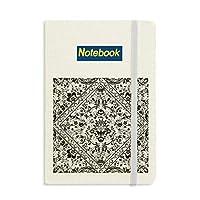 バロック様式の並列反復イラストパターン ノートブッククラシックジャーナル日記A 5