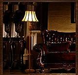 BXU-BG Estándar de Lujo Piso de Oro de Cobre del Accesorio Ligero de la lámpara Moda Real Fortuny Retro luz de pie clásica