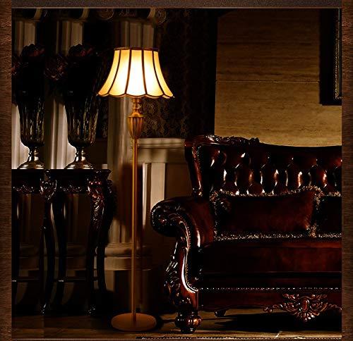 Tivivose Estándar de Lujo Piso de Oro de Cobre del Accesorio Ligero de la lámpara Moda Real Fortuny Retro luz de pie clásica