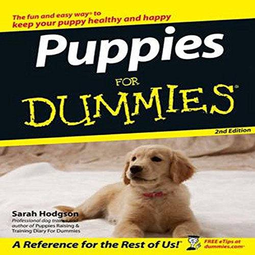 Puppies for Dummies audiobook cover art