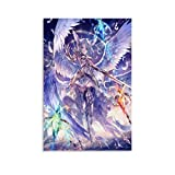 Huangchen Game Anime Poster Shadow Verse Warrior Wing Girl