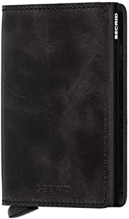Secrid Slimwallet - Vintage Black Leather
