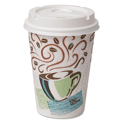 dixie 12 oz coffee lids - 4