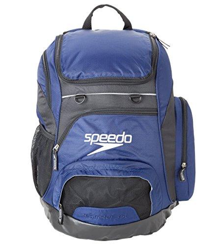 Speedo Unisex Adult Teamster Backpack, Navy, 35 L