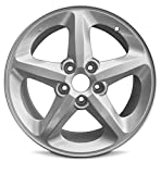 Road Ready Car Wheel for 2006-2010 Hyundai Sonata 17 inch 5 Lug Silver Aluminum Rim Fits R17 Tire - Exact OEM Replacement - Full-Size Spare