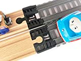 TrainLab Trackmaster (2014-Current) to Wood Track Adapter for Thomas BRIO IKEA (Black)