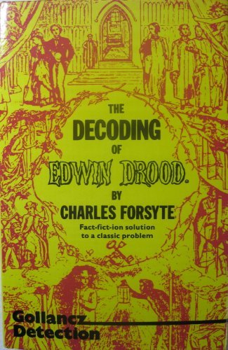 The decoding of Edwin Drood download ebooks PDF Books