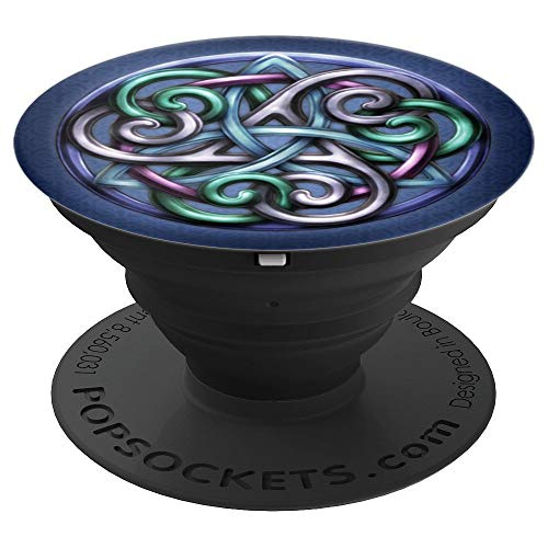 Celtic Knot Triskele Triquetra PopSockets Grip and Stand for Phones and Tablets