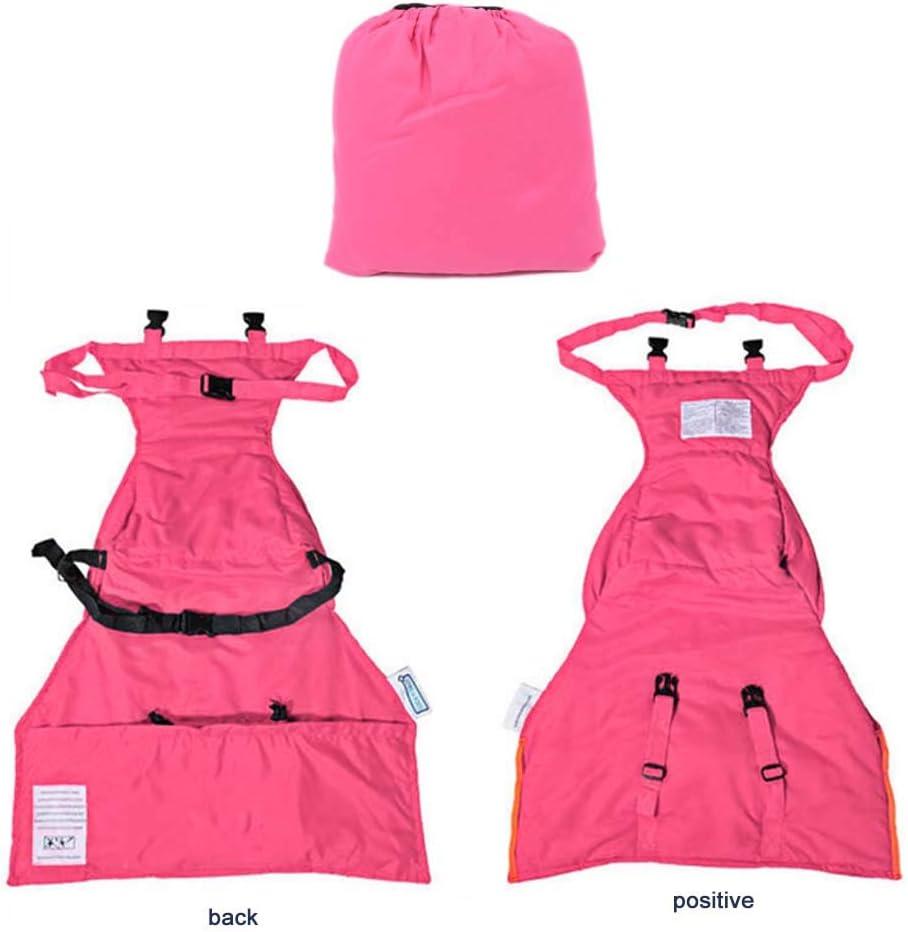 Arn/és de seguridad port/átil para asiento de beb/é funda de asiento de silla alta ajustable rojo rosa lavable para ni/ños peque/ños segura
