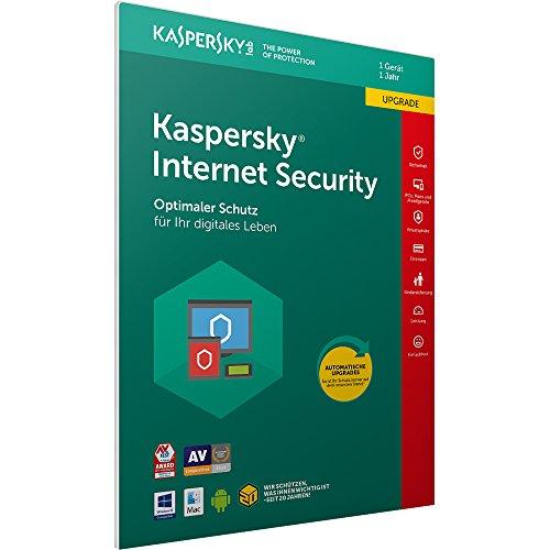 Preisvergleich Produktbild Kaspersky Internet Security 2018 Upgrade / 1 Gerät / 1 Jahr / Windows / Mac / Android / Download