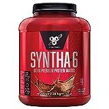 BSN Syntha 6 Ultra-Premium Proteínas en Polvo para Aumentar Masa Muscular y Recuperación, Chocolate, 48 Porciones, 2.26 kg