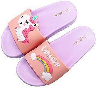 022359028ce7 Elcssuy Kids Summer Sandals Non-Slip Lightweight Beach Water Shoes Pool  Bath Slippers Sport Slides