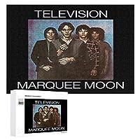 テレビバンドマーキームーン Television Marquee Moon 300ピースのパズル木製パズル大人の贈り物子供の誕生日プレゼント
