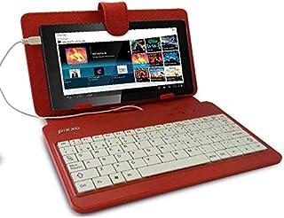 """PIXXO Funda para Tablet 7"""" con Teclado español"""