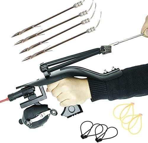 Slingshot for Fishing Hunting Set Pro Fishing Reel Catapult Bowfishing Archery Arrows Slingbow product image