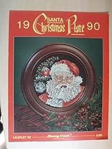 1990 Santa Christmas Plate (Leaflet 32)