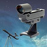 armine88 Chercheur télescope Utilisation Red Dot View Professional Visant Précis Facile Opérer Visée Légè Astronomie Réglable Hauteur Réglable Pratique