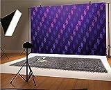 Indigo - Fondo de vinilo para fotos de 20 x 15 cm, escaleras, como cuadrados minimalistas modernos con cruz en el fondo superior para selfies, fotos de fiesta de cumpleaños, fotos de cabina de fotos