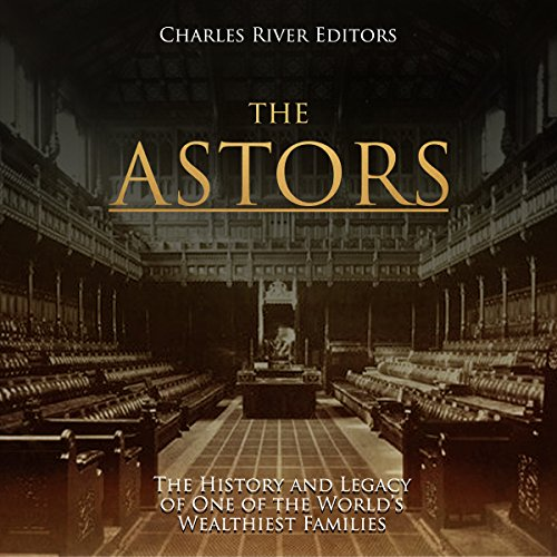 The Astors audiobook cover art