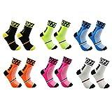 DH Sports Calcetines de ciclismo al aire libre formación de compresión fútbol corriendo hombres & mujeres calcetines...