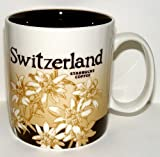 Starbucks Kaffeebecher Kaffee City Mug Tee Tasse Becher Icon Series Schweiz Switzerland