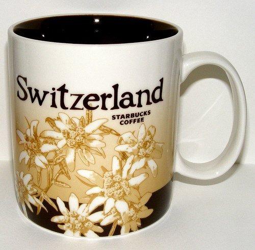 Starbucks Kaffeebecher Kaffee City Mug Tee Tasse Becher Icon Series Schweiz Switzerland