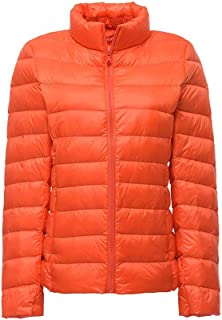 CWSY Women's Packable Ultra Light Weight Short Down Jacket for Winter and Fall