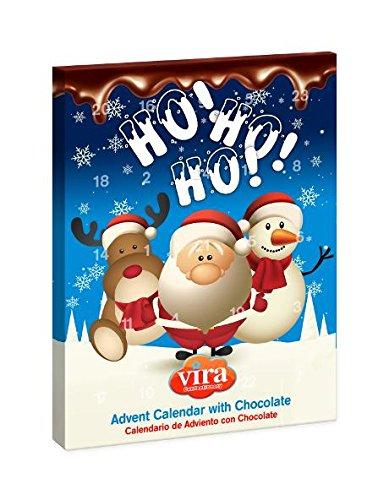 Calendario Avvento Natale Con Figurine Di Cioccolato Al Latte 50 Gr