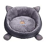 morbido tappetino per animali domestici, lavabile, caldo tappetino rotondo per cani di piccola taglia, cuscino per cuccia rimovibile per gatti, cani, gatti, comodo e piccolo per dormire, 38 cm