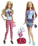 Barbie - Stylin Friends - Barbie & Summer - BDB42 – Mattel
