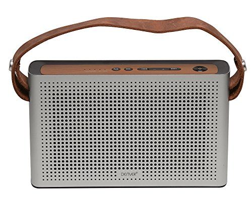 Denver Electronics BTS-200silver Bluetooth Lautsprecher silber