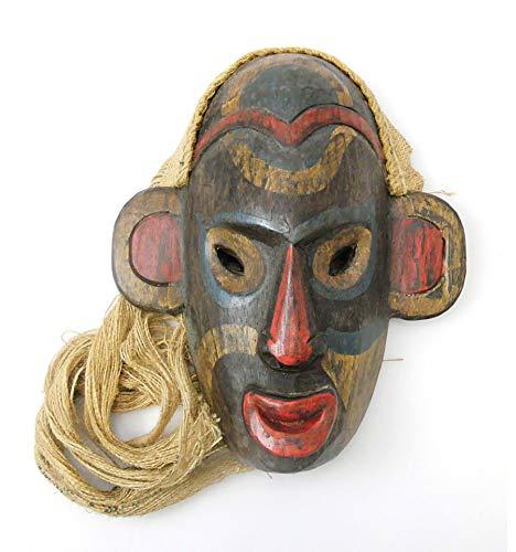 Masker van Indonesisch tribal van Borneo, Esprit Arts Premiers.