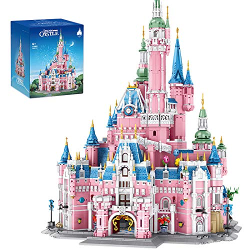 OATop Modular Dream Castle Building Sets, 9963 Pieces Princess Castle Architecture Building Blocks Model, Compatible with Lego Disney Castle