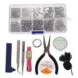 Shefii - Kit de herramientas de reparación de joyas para principiantes