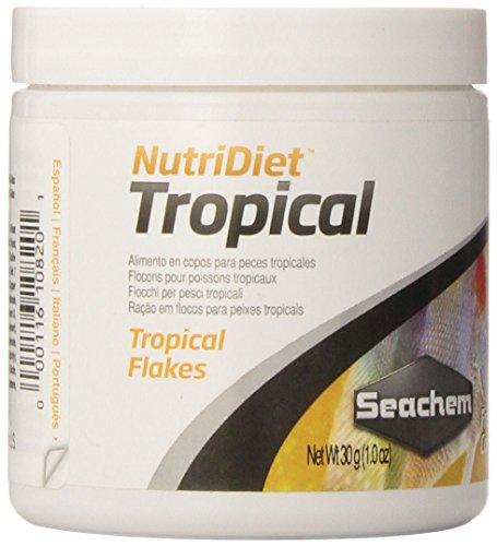 Nutridiet Tropical Flakes with Probiotics 30g/ 1 oz