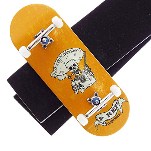 P-REP Solid Performance Complete Wooden Fingerboard 34mm x 98mm Graphic (Bandito)