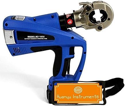 Huanyu Akku Rohr Crimpzange, Hydraulik-Crimp-Werkzeug mit TH und U Backen von 16–32 mm B01JA4IOS6   Wirtschaftlich und praktisch