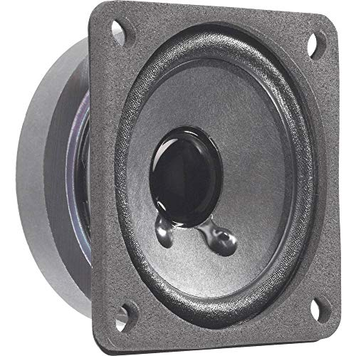 Visaton VS-FRS7/8S Lautsprecher (1.0Kanäle, 8W, 120–20000Hz, 8Ohm, schwarz)