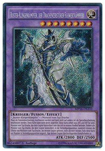 Buster-Klingenkämpfer, der Drachenzerstörer-Schwertkämpfer - MP16-DE210 - Secret Rare - 1. Auflage