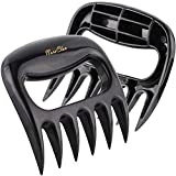Bear Meat Pulled Shredder Claws - SURDOCA Hollow BBQ Meat Forks Shredding Handling & Carving Food - Claw Handler Set for Pulling Brisket from Grill Smoker or Slow Cooker - BPA Free Barbecue Paws