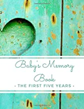 Baby's Memory Book: The First Five Years: (My Two Moms) 5-Year Baby Journal Record Book For Adoptive & Expectant Lesbian Parents