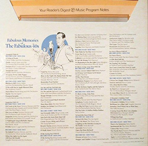 fabulous memories of the fabulous '40s LP