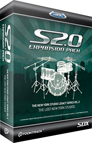 SDX New York Studios Vol.2 Superior Drummer 2 Library