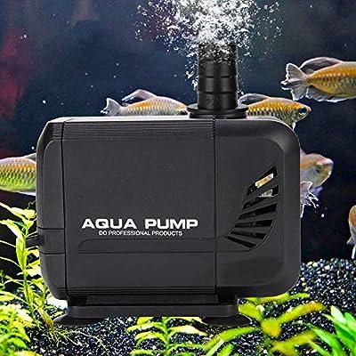 GOTOTOP 35W 2500L/H Pompe Eau Submersible Aquarium pour Eau Douce, Eau de Mer